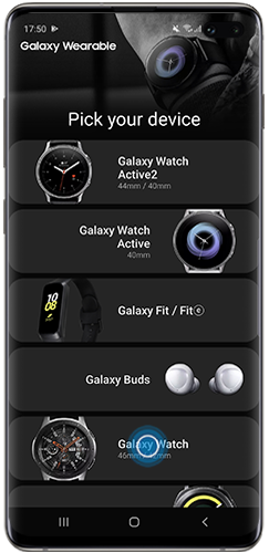 How to activate WhatsApp notifications on a Galaxy Watch