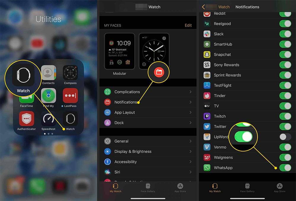 How to install WhatsApp on Apple Watch, Step by Step for Apple Watch WhatsApp Enable WhatsApp notifications for Apple Watch
