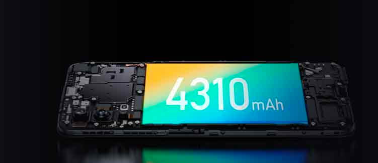 Realme X7 5G Battery
