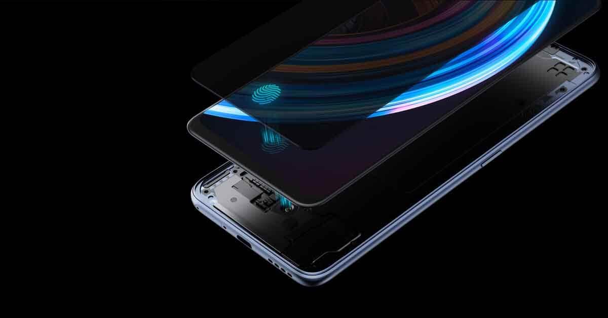 Realme X7 5G Fingerprint