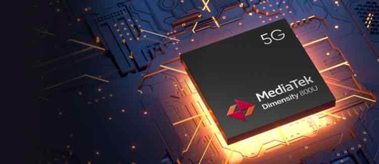 MediaTek Dimensity 800U Realme X7 5G Processor