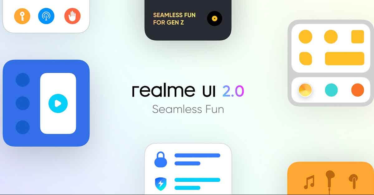 Realme X7 5G UI 2.0