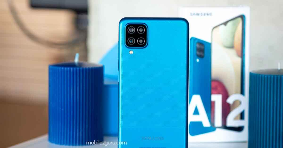 Samsung Galaxy A12 price in India leak will start from INR12,999