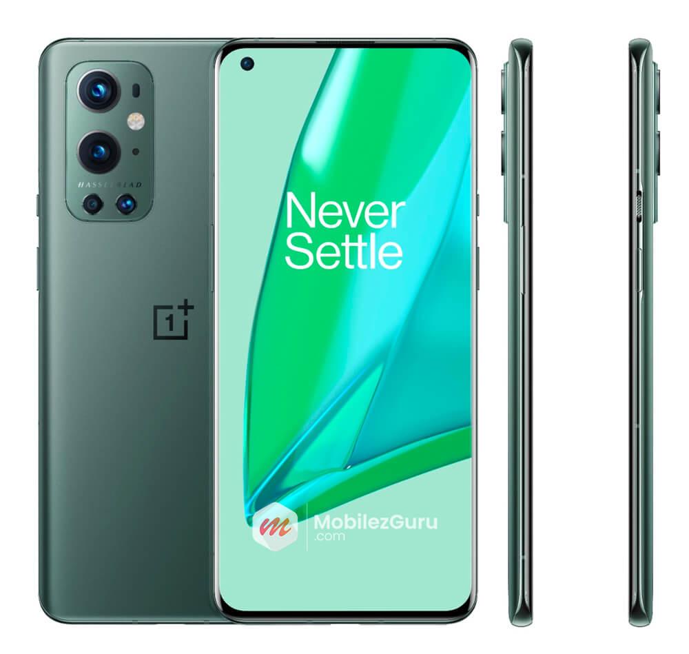 OnePlus 9 Pro in Green color mobilezguru