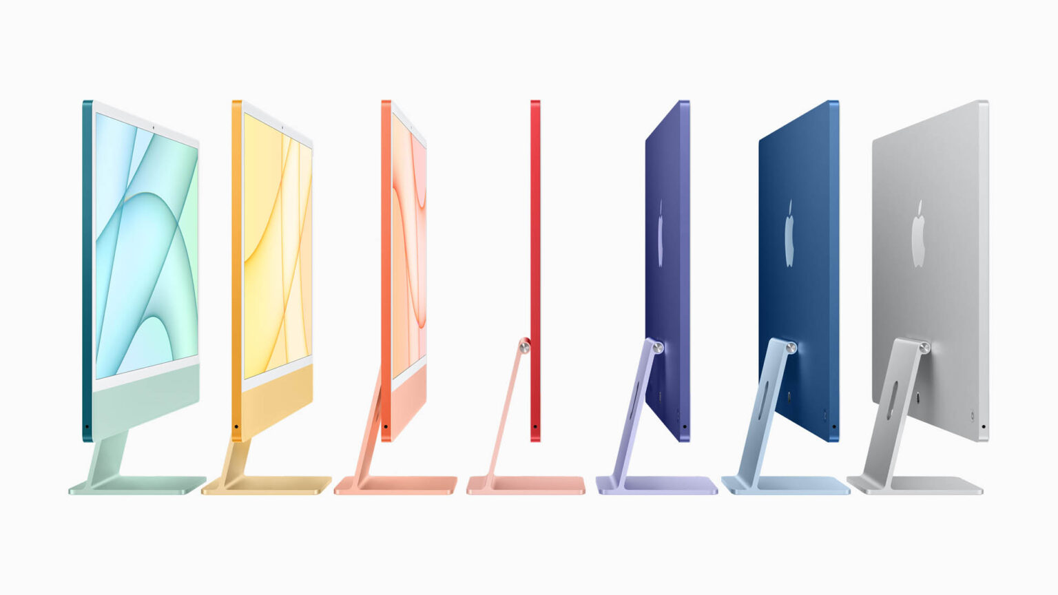 All-new iMac 2021 announced by Apple with the spectrum of ...