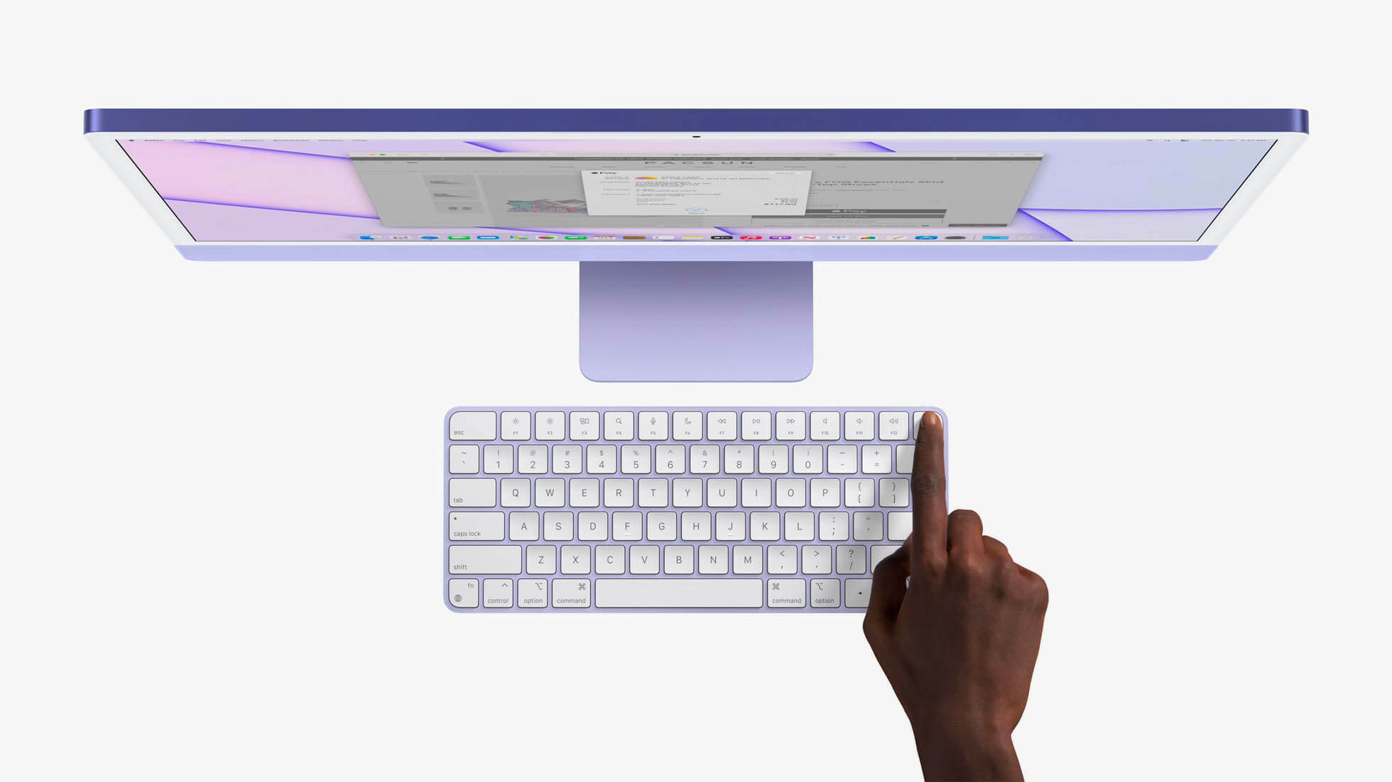 iMac 2021 touch id