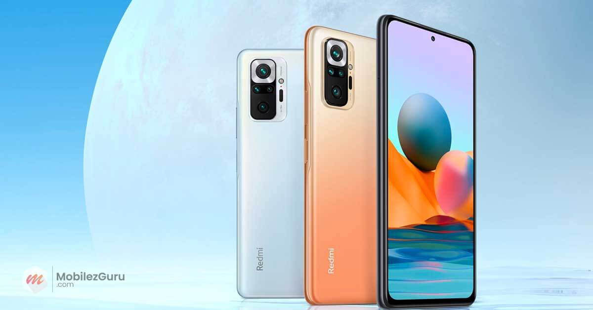 Best phone 2021 Redmi Note 10 Pro MobilezGuru