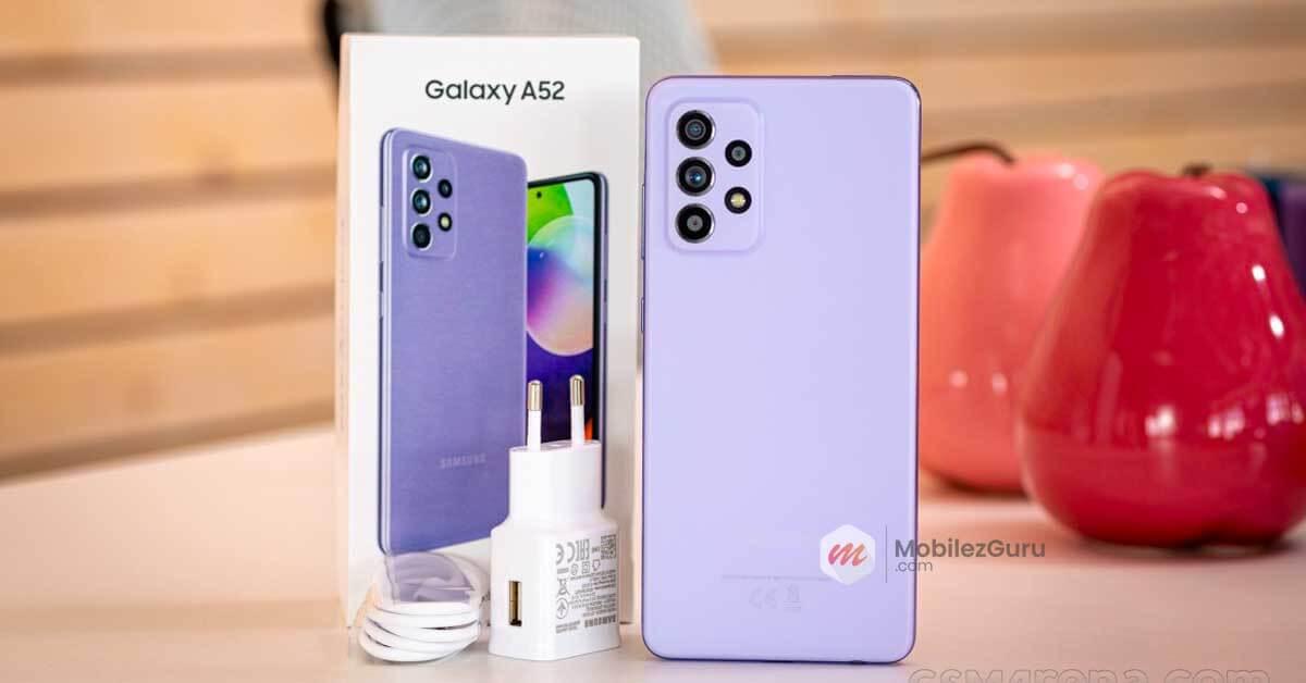 best phone 2021 Samsung Galaxy A52 MobilezGuru
