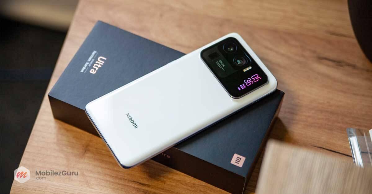 best smartphone 2021 Xiaomi Mi 11 Ultra MobilezGuru