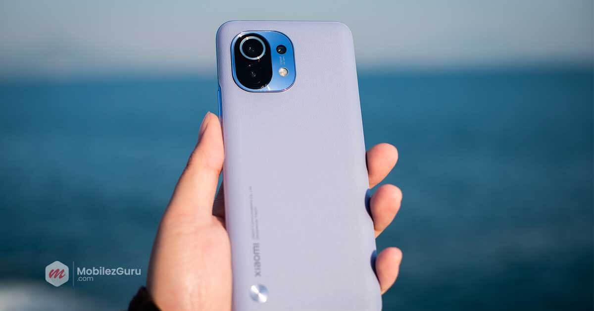 best smartphone 2021 Xiaomi Mi 11 MobilezGuru