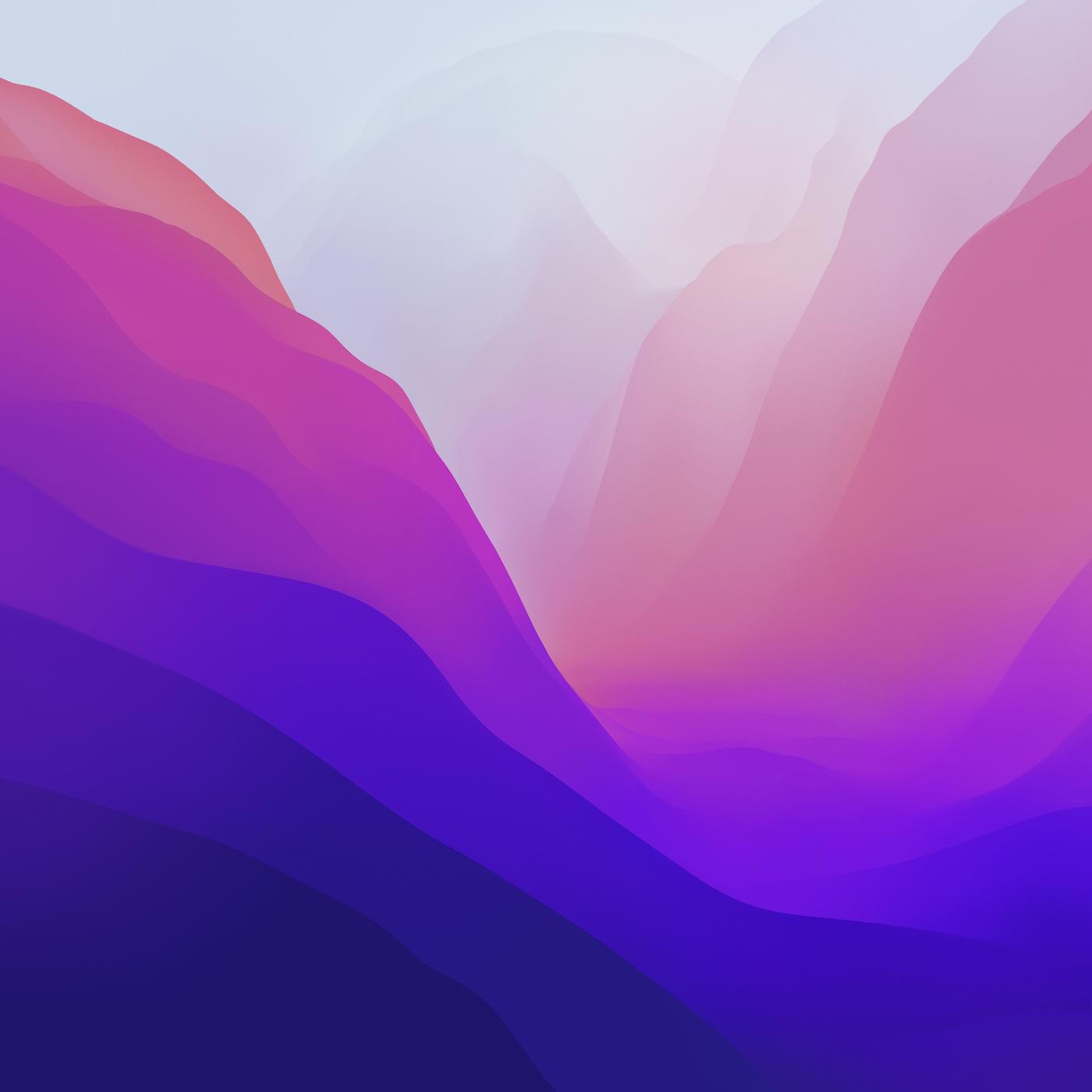 macOS Monterey wallpapers download