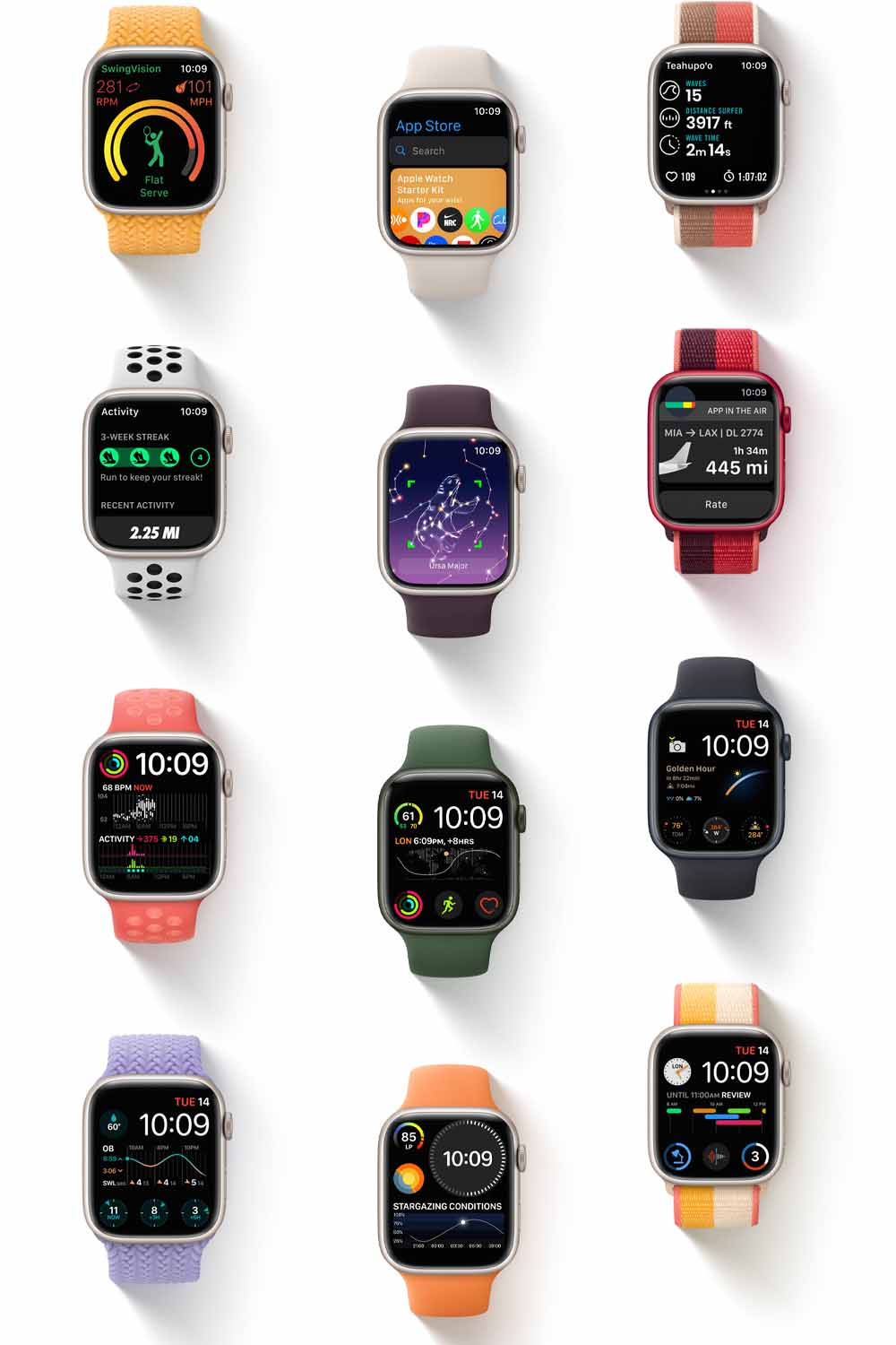 Apple Watch Series 7 has a bigger display in the same body, coming this Fall for $399
