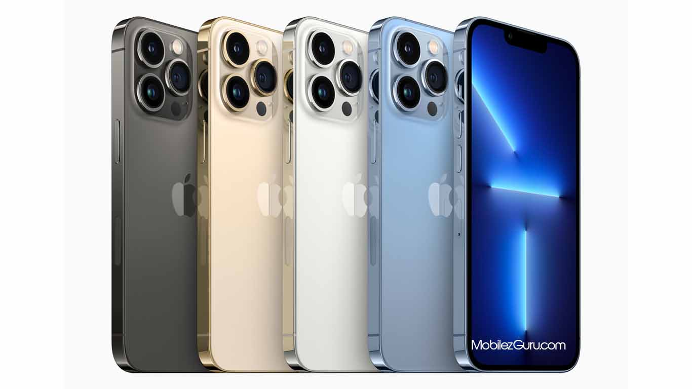 iPhone 13 Pro and Pro Max have 120Hz OLED screens, three-times-zoom cameras, and 1 TB storage options.
